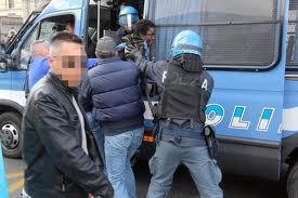 polizia migranti