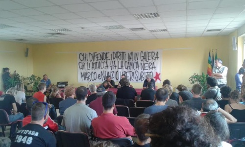 conferenza stampa nunzio