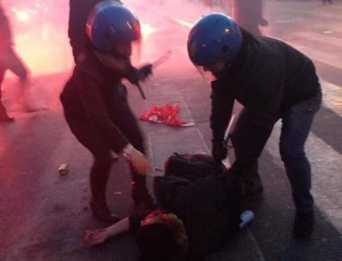 roma piazzale flaminio #MaiConSalvini
