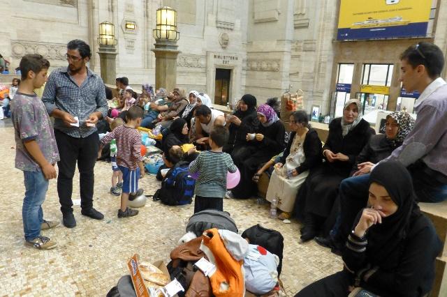 rifugiati stazione milano