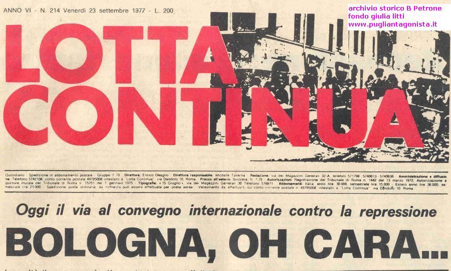 bologna 77