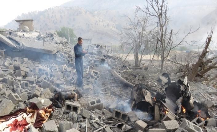 bombardamento contro i curdi
