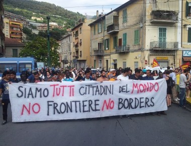 no border ventimiglia