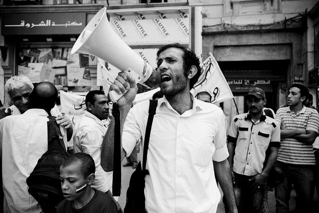 Foto di Hossam el-Hamalawy
