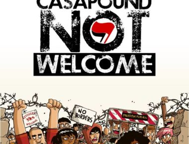 casapound not welcone
