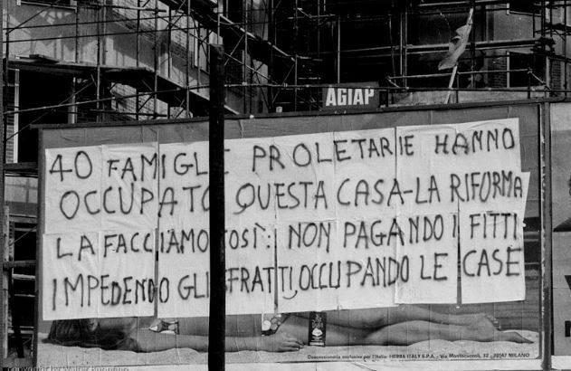 milano 1970 occupazioni case