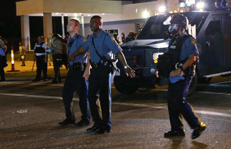 Polizia a San Diego © Lapresse