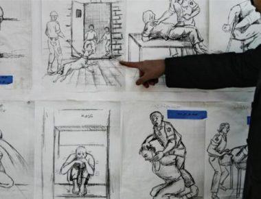 Fra i metodi di tortura, viene riportato, figurano colpi al viso e l'obbligo per un individuo ammanettato di inginocchiarsi contro un muro per lunghi periodi. (Foto: Abid Katib/Getty Images)