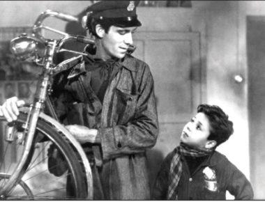 """UN'IMMAGINE DI """"LADRI DI BICICLETTE"""", IL FILM DEL 1948 DIRETTO DA VITTORIO DE SICA"""