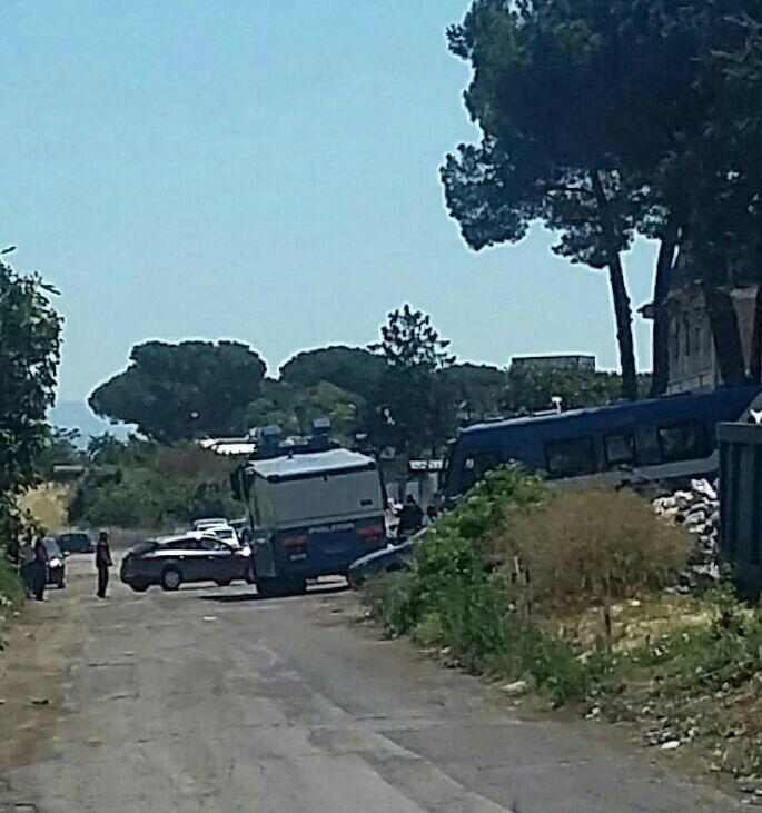 roma sgombero migranti tiburtina