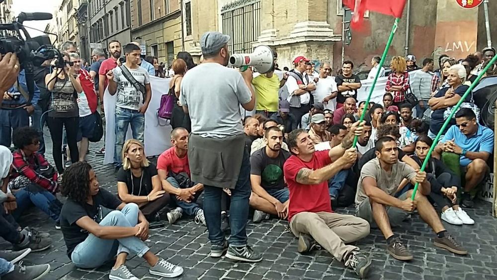roma diritto all'abitare