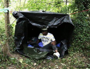 Nella «nuova giungla» di Calais foto di Stefano Lorusso