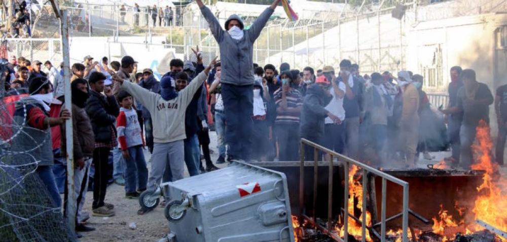 grecia migranti lesbo