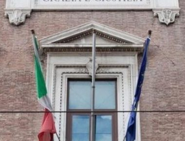 28/12/2010 Roma, sede del Ministero di Grazia e Giustizia di via Arenula