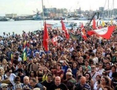 Catania diciotti migranti presidio