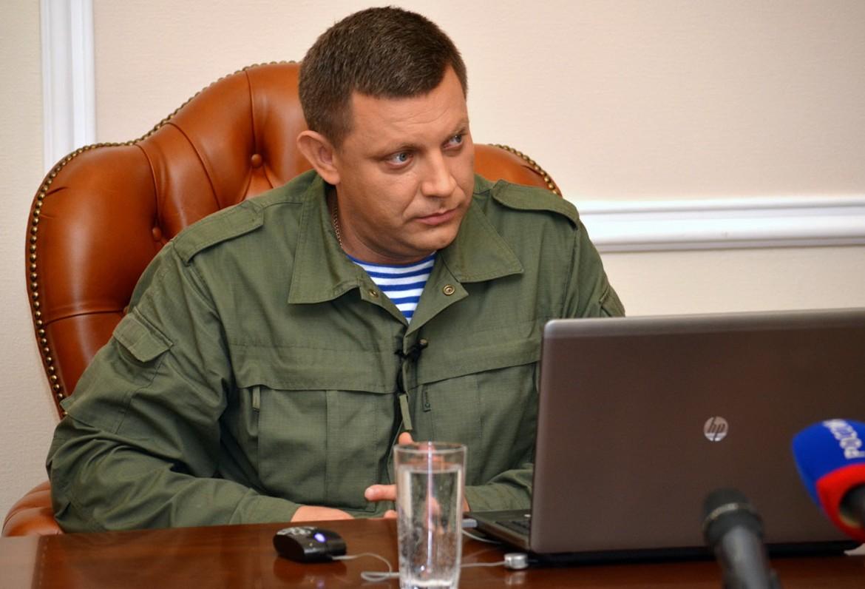 Alexander Zacharchenko, presidente dell'autoproclamata «Repubblica popolare del Donbass» © Lapresse
