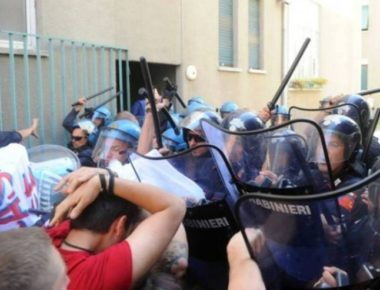 Milano sgombero via Turchino