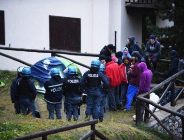 migranti sgombero-chiesa valsusa