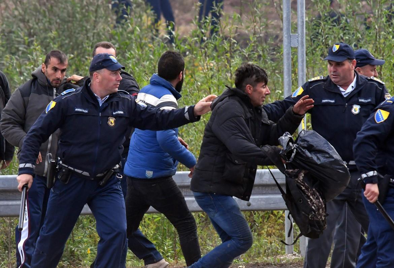 polizia croata confine