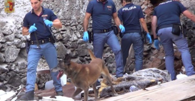 polizia san berillo catania