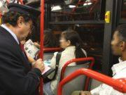 controllo sugli autobus