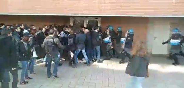 torino polizia difende fuan