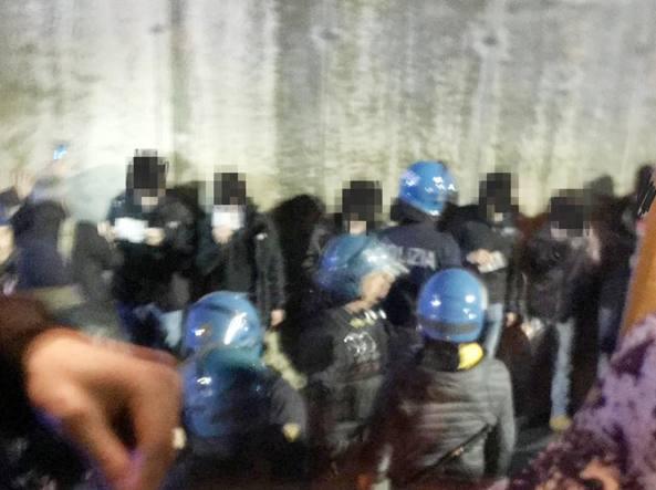 polizia fiorentina atalanta