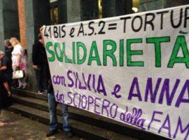 silvia e anna sciopero della fame