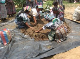 guatemala Donne del popolo Maya Ki'che