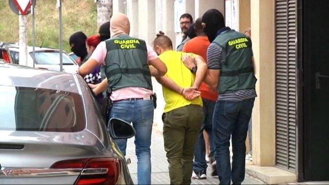 arresti catalogna