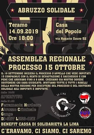 teramo solidarietà 15 ottobre