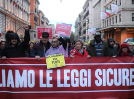 roma decreti sicurezza