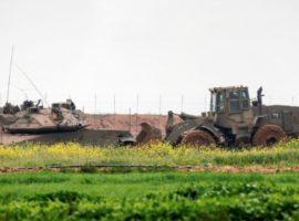 palestina bulldozer israeliano
