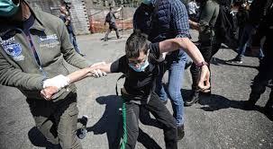 rebibbia proteste parenti detenuti
