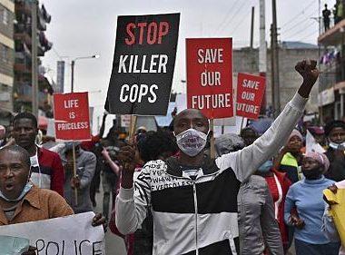 africa manifestazioni per jeorge floyd