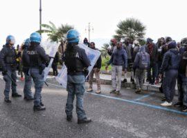 migranti - polizia