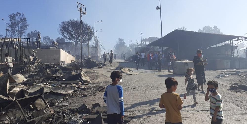 Grecia moria campo profughi