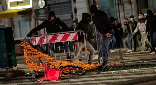 scontri roma forza nuova