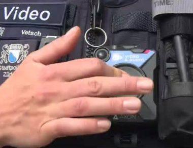 polizia telecamera