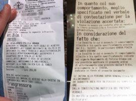 Genova Multa-per-bivacco