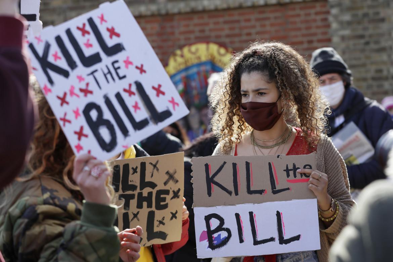 Londra, la protesta «Kill the Bill» © Ap