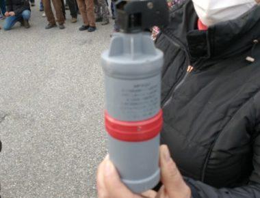 lacrimogeni - notav