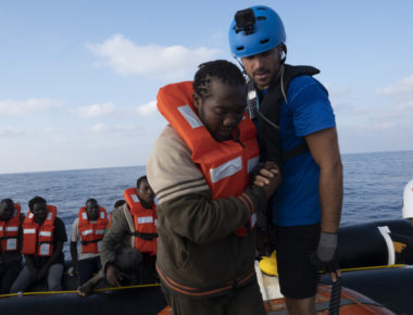 Migranti soccorsi da Mediterranea © Mediterranea Saving Humans
