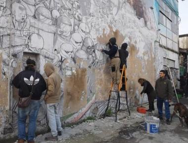 Bologna come Berlino, Blu cancella i suoi murales