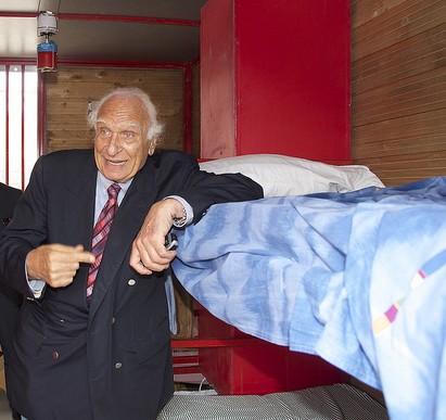 Marco Pannella visita carcere