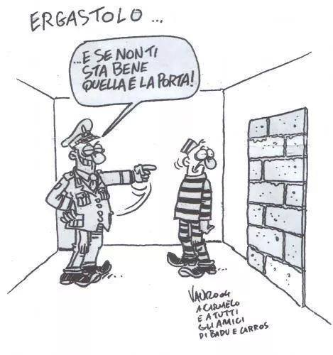 VAURO VIGNETTA SU ERGASTOLO