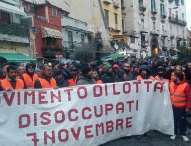 Napoli disoccupati