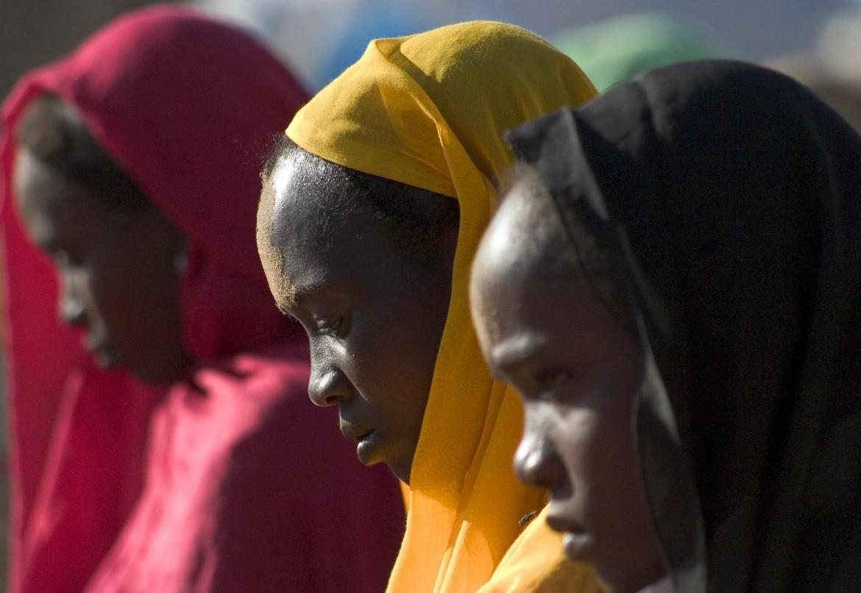 Donne migranti nel centro di detenzione libico di Abu Salim © Federica Iezzi