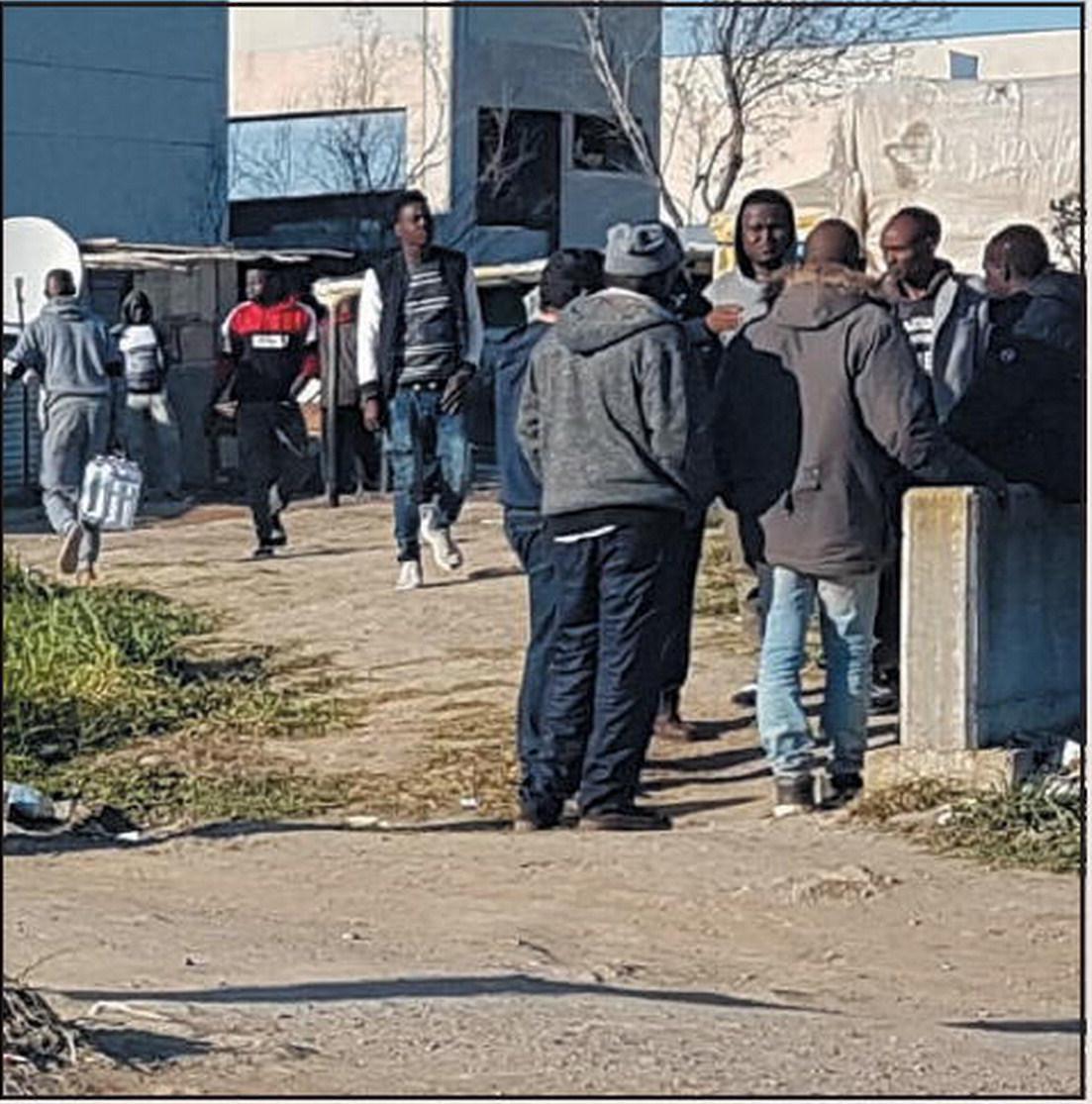 migranti ghetto di felandina