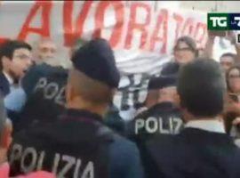roma cariche lavoratori atac